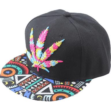 Hip Pop Marijuana Weed Snapback