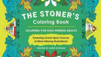 High Visions Psychedelic Coloring Book - Stoner Toolbox