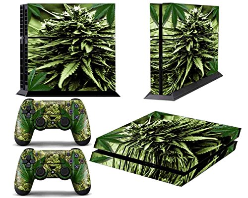 Sony PlayStation 4 Console Weed Decals