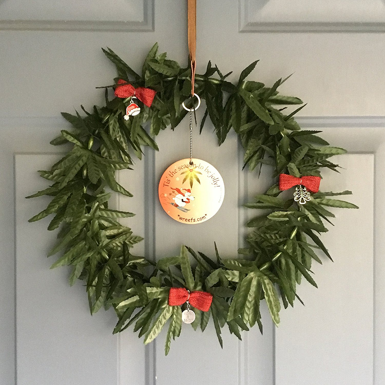 The Wreef Artificial Marijuana Wreath