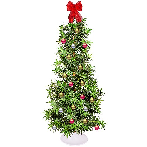 Artificial Marijuana Leaf Christmas Tree