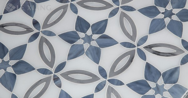 Water Jet Cut Tile Mosaic