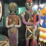 African Trade Bead display 009