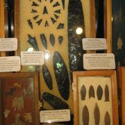 Indian Artifact Arrowhead Display 020