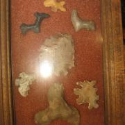 Indian Artifact Arrowhead Display 023