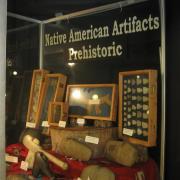 Indian Artifact Axe Display 003