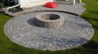 Paving Stone Fireplaces and Barbecues- Stone Taffy Design