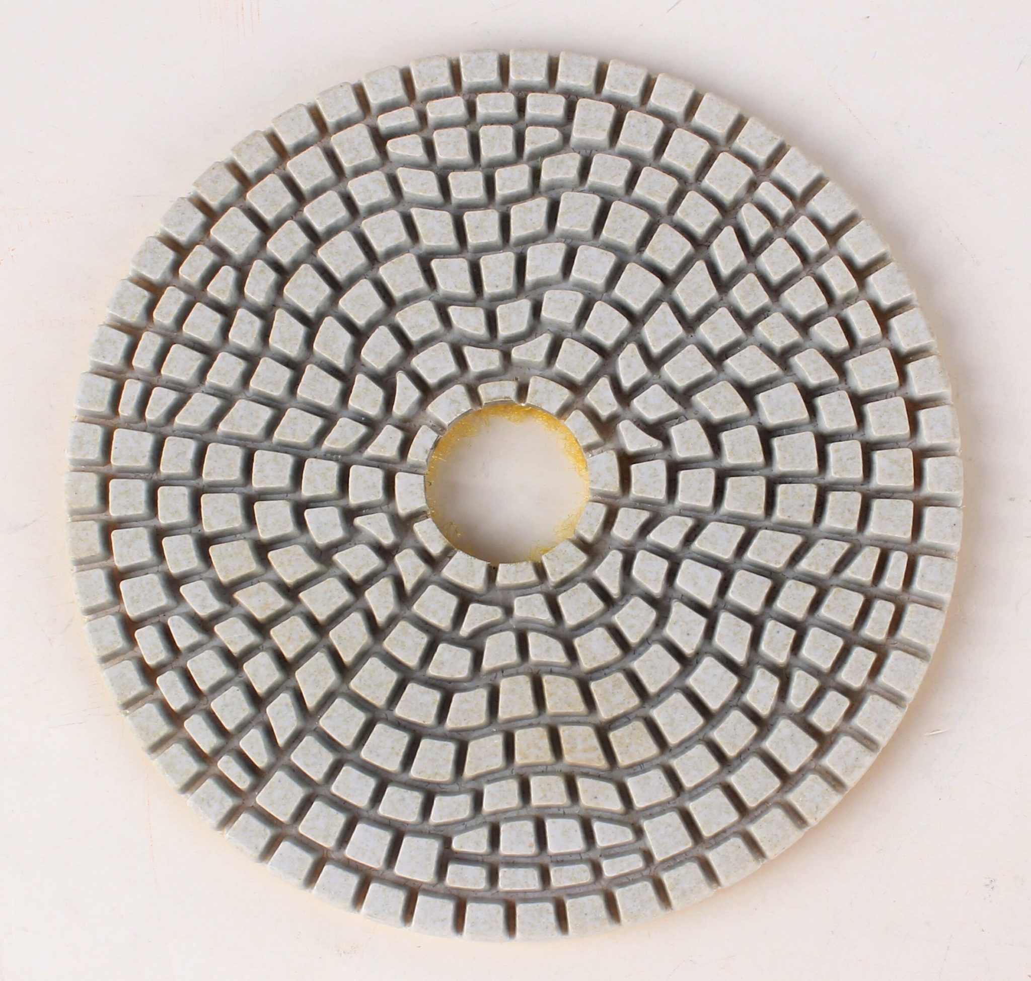 Raizi 4 Inch/100 mm 3 Step Polishing Pads Wet Marble, Engineered Stone, Granite Diamond Polishing Pads