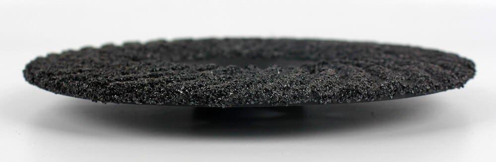 Raizi 4,7 Inch Black Silicon Carbide Resin Grinding Wheel For Stone Polishing