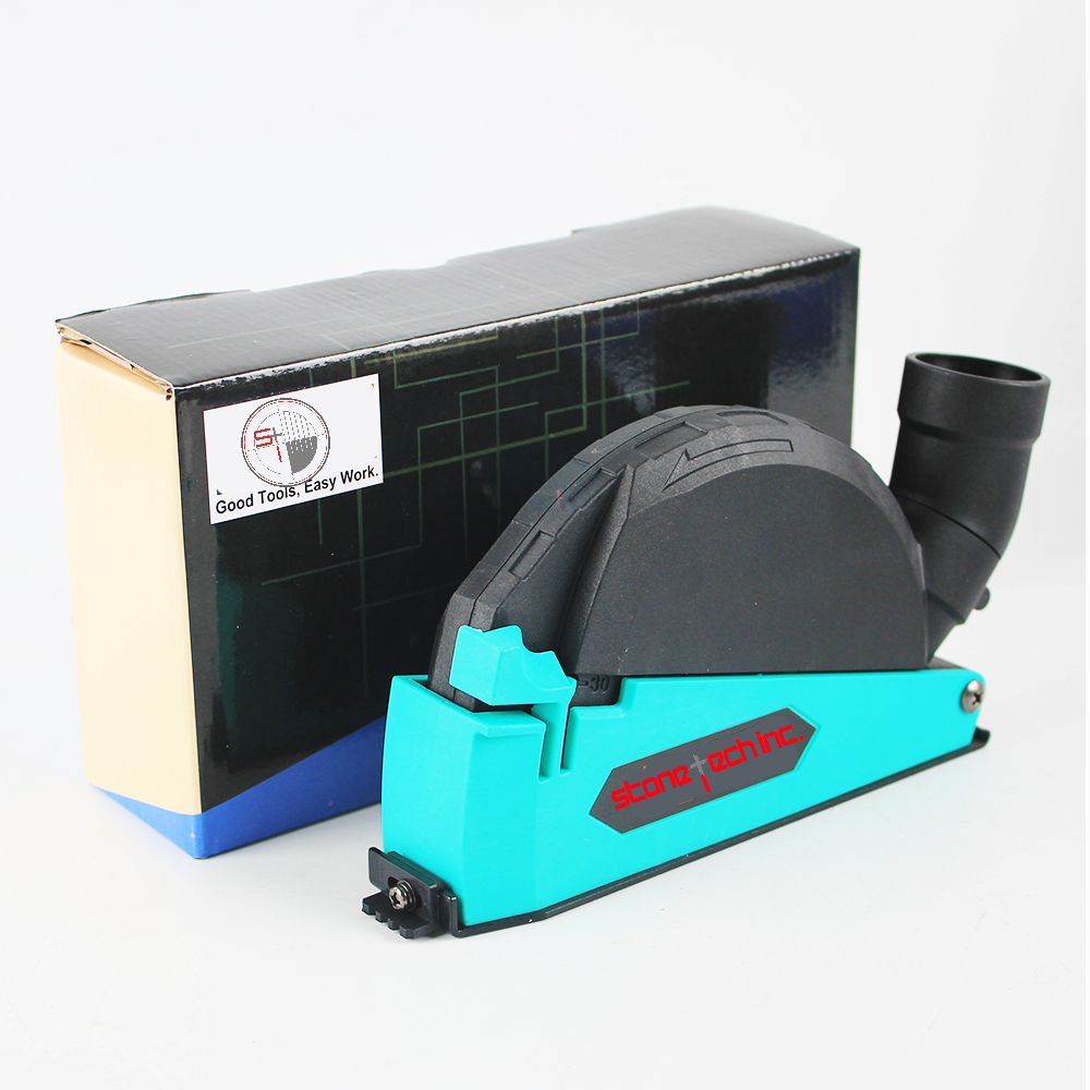 Cutting Dust Shroud For Angle Grinder Cover Tool With 115/125 mm Diamond Saw Blade Dust Collector Attachment