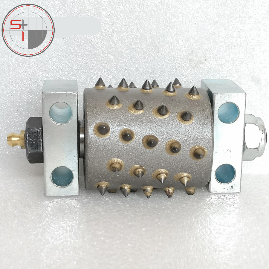 Bush Hammer Rollers-D45*54L*45Teeth With Support And Bearing