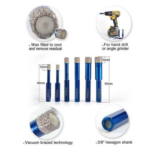 Diamond Drill Bit | Ceramic | Porcelain | Tile | Granite