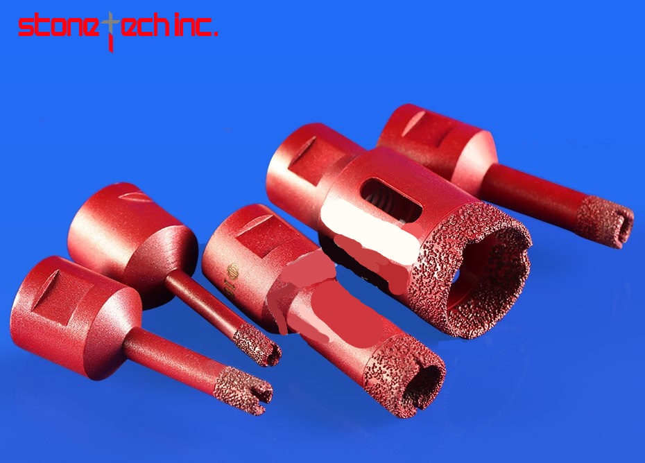 Diamond Vacuum Brazed Drilling Core Bits M14 Connection Drill Bits Hole Saw Diamond Emery Drill Tools for Marble