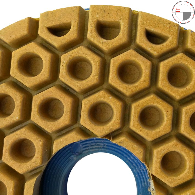 5,6 inch Snail Lock Edge Polishing Pad 125mm Edge grinding wheel marble polishing pad grinding granite concrete stone