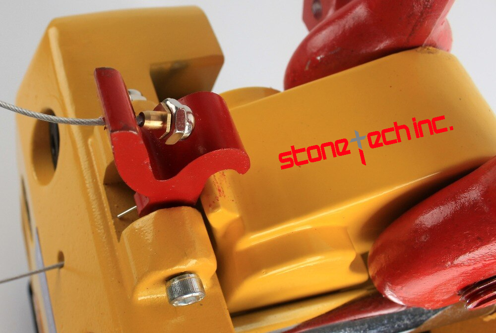 Hooks for stone slab lifter, lifting tools