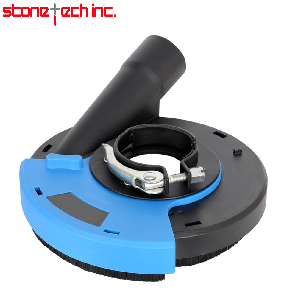 7 inch Universal Surface Grinding Dust Shroud Cover Tools Dust Collector for Hand Angle Grinder Dust Collection Dust Shroud D6