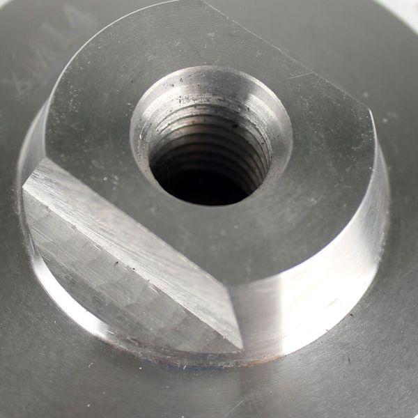 4 inch/100 mm Aluminum Backer Pad For Diamond Polishing Sanding Pad M14, 5/8-11