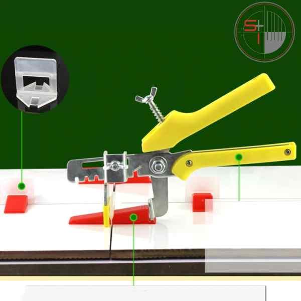 Tile Floor Locator & AMP ; Leveler Machine
