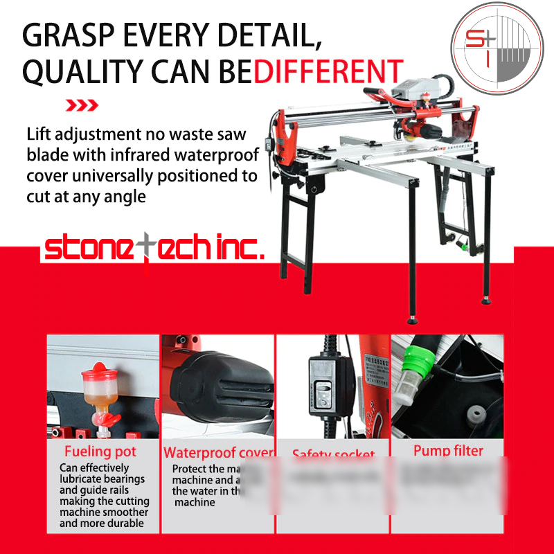 Tile cutting machine Automatic multi-function and electric