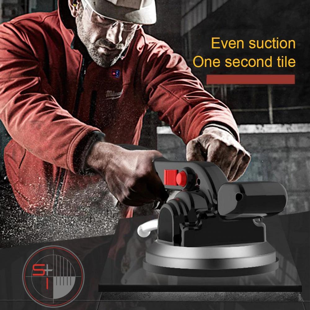 Tile Vibrator Leveling Machine 6 Gears, Adjustable, Wireless, Lithium Battery