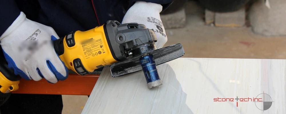 Diamond Coated Hole Drill Bits For Porcelain Ceramic Tile