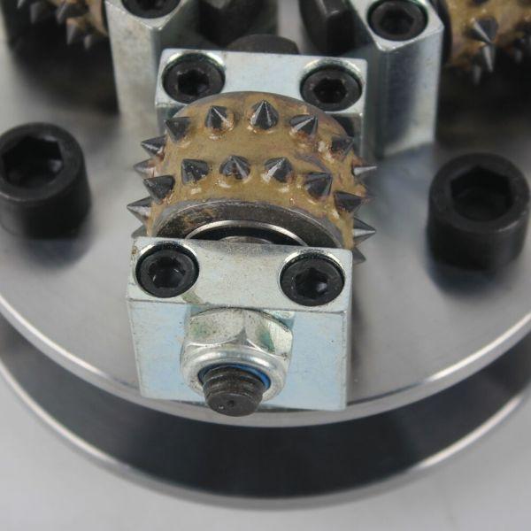 Bush Hammer Wheel Replacement Abrasivfor Stone Hammer Plate