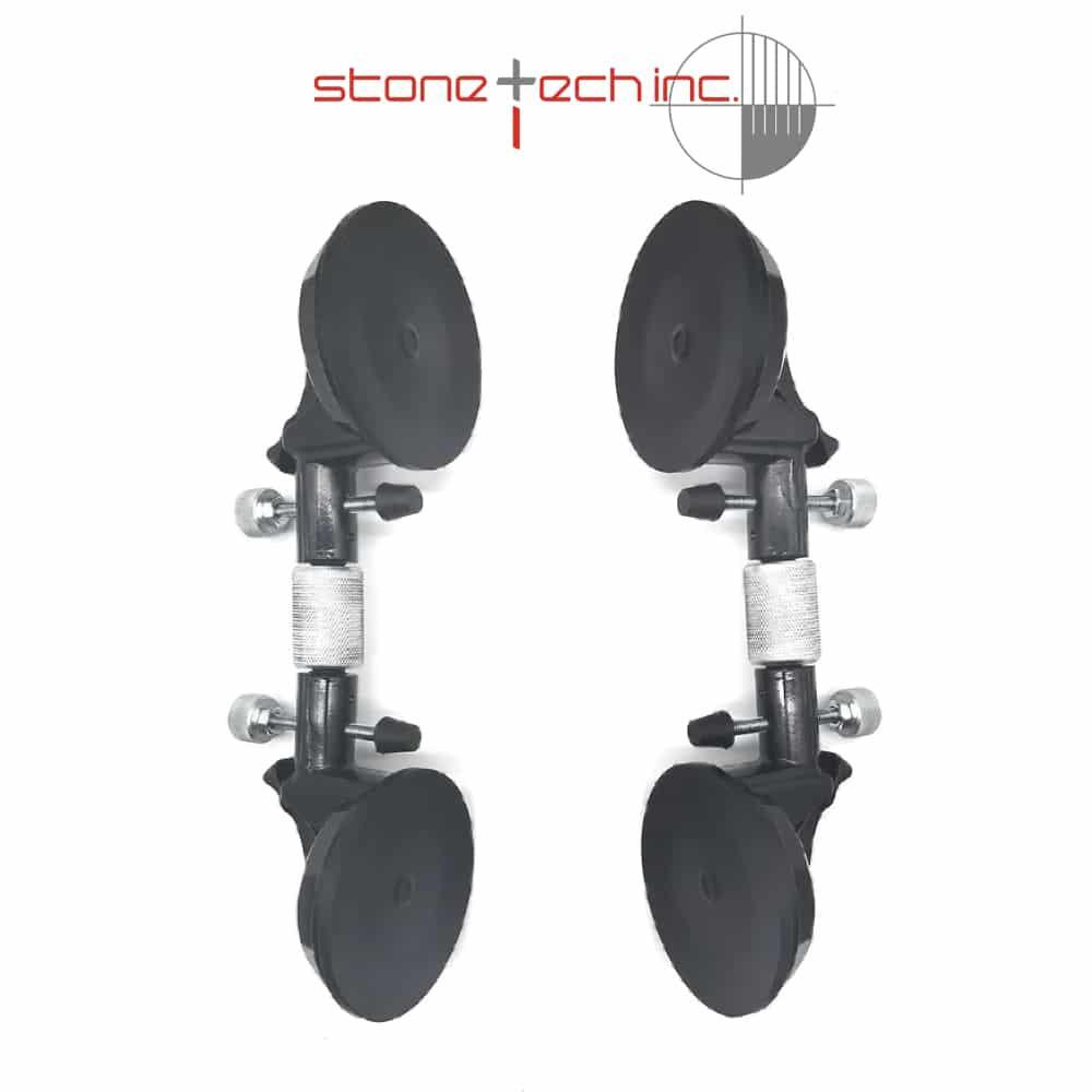 1pc/2PCS  5'' Stone Seam Setter  Manual Operation Vacuum Levelling Suction Cup Adjustable Stone Seam Setters