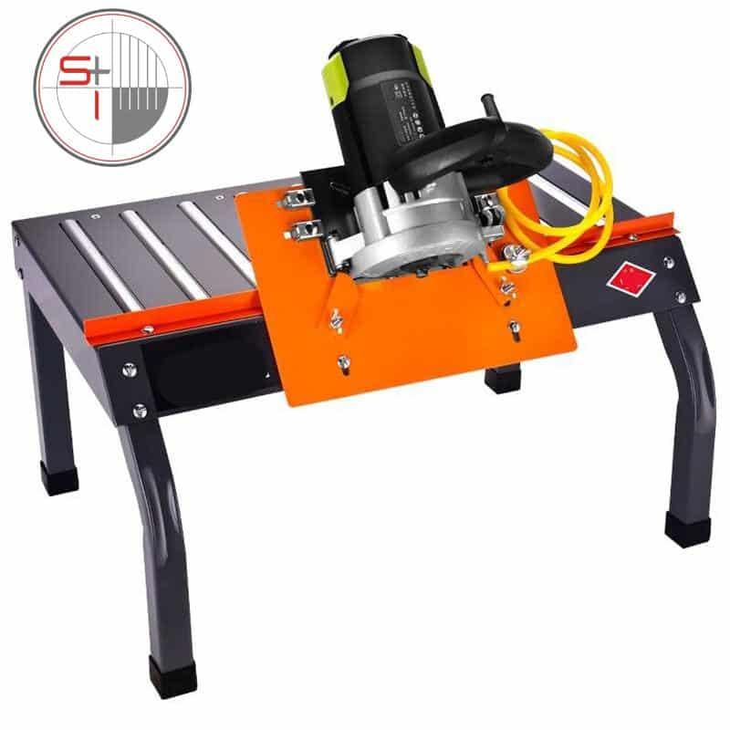 Desktop tile cutter 45 degree dust-free edge cutting machine