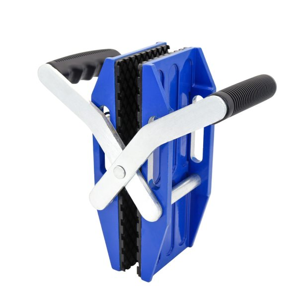Double Handed Stone Carrying Clamps with Rubber-lined Porterage Tools for Transporting of Glass Slabs Metal Sheet Granite