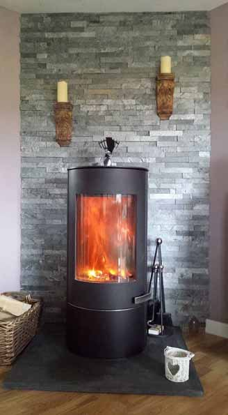 Heat Resistant Tiles For Wood Burning Stove