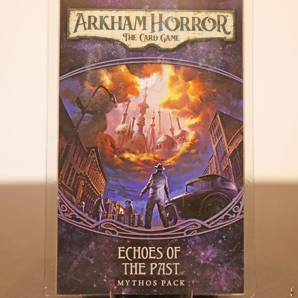 arkham horror card game echos of the past front