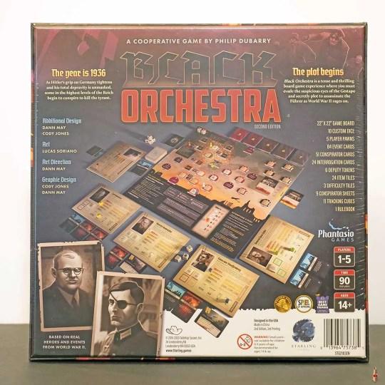 black orchestra back
