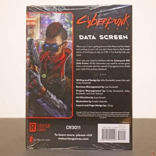 cyberpunk red data screen back