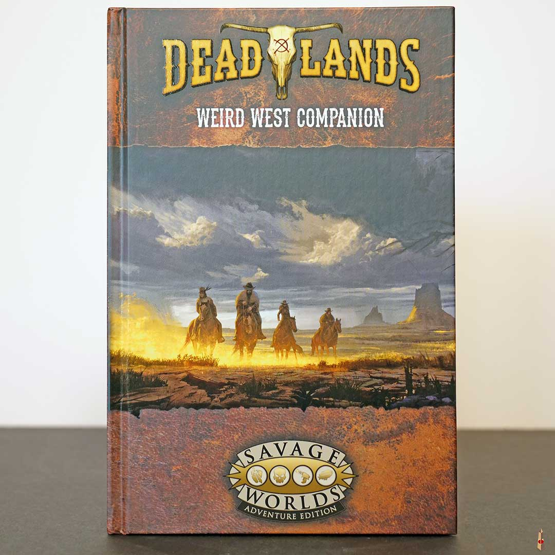 deadlands weird west companion front