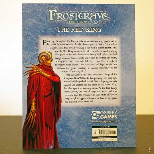 frostgrave 2e red king back