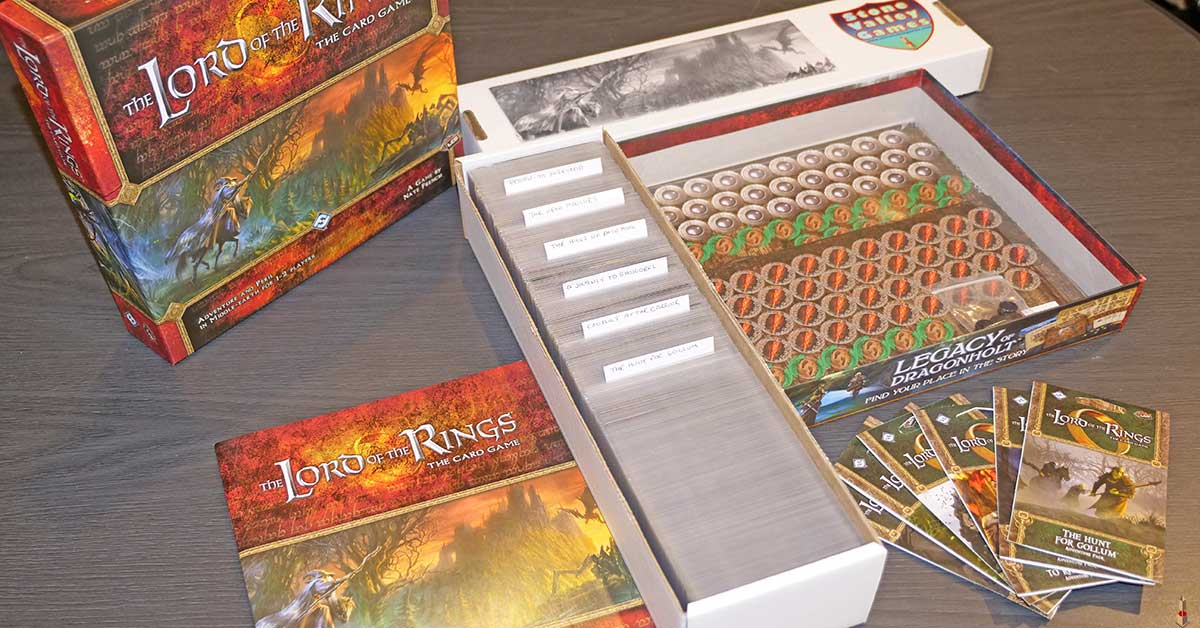 lord of the rings card game giveaway set expanded