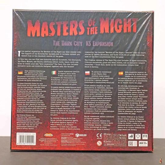 masters of the night dark city ks back