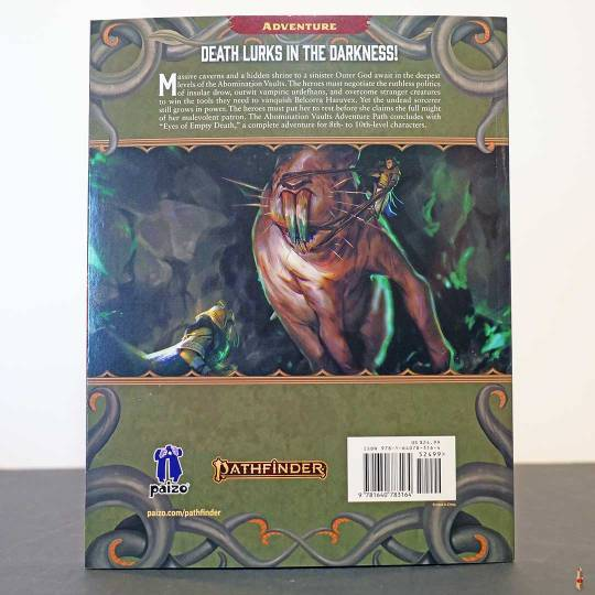 pathfinder 2e abomination vaults eyes of empty death back