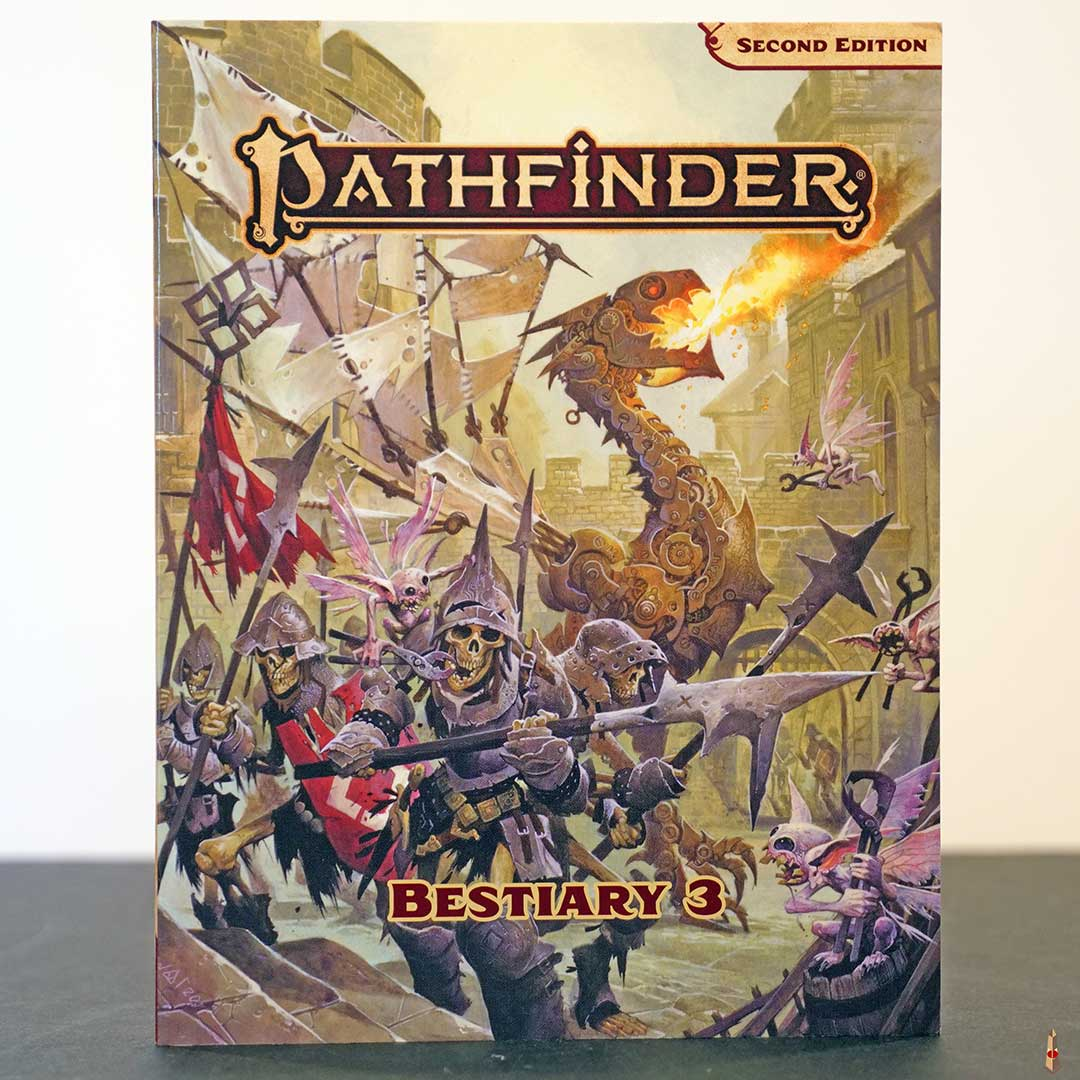 pathfinder 2e bestiary 3 pe front