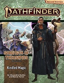 pathfinder 2e strength of thousands 1 kindled magic temp