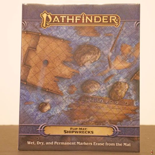 pathfinder flip mat shipwrecks front