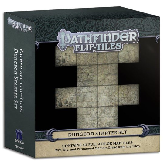 pathfinder flip tiles dungeon starter temp
