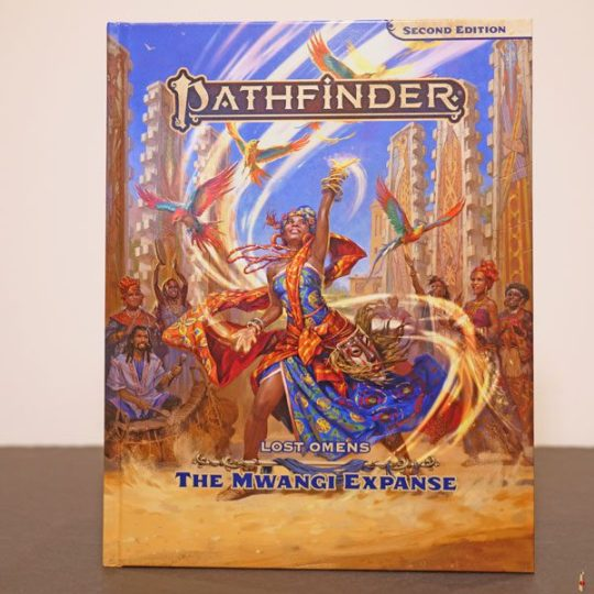 pathfinder second edition lost omens mwangi expanse front