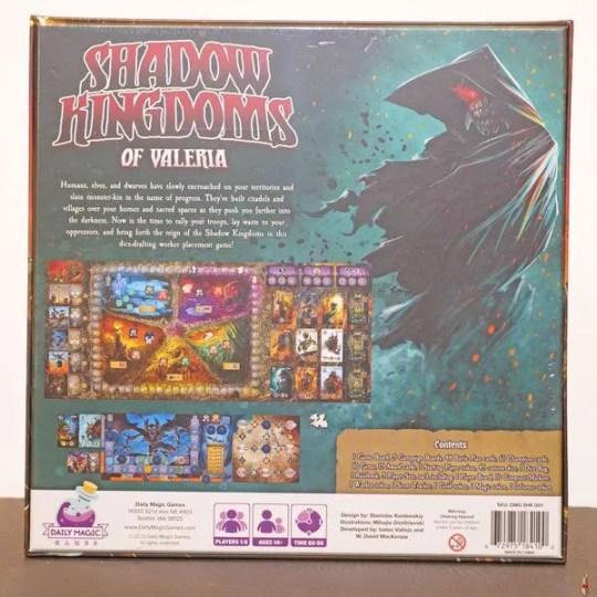 shadow kingdoms of valeria back