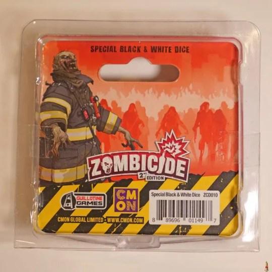 zombicide 2e black white dice back
