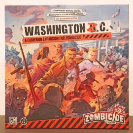 zombicide 2nd edition washington z.c. front