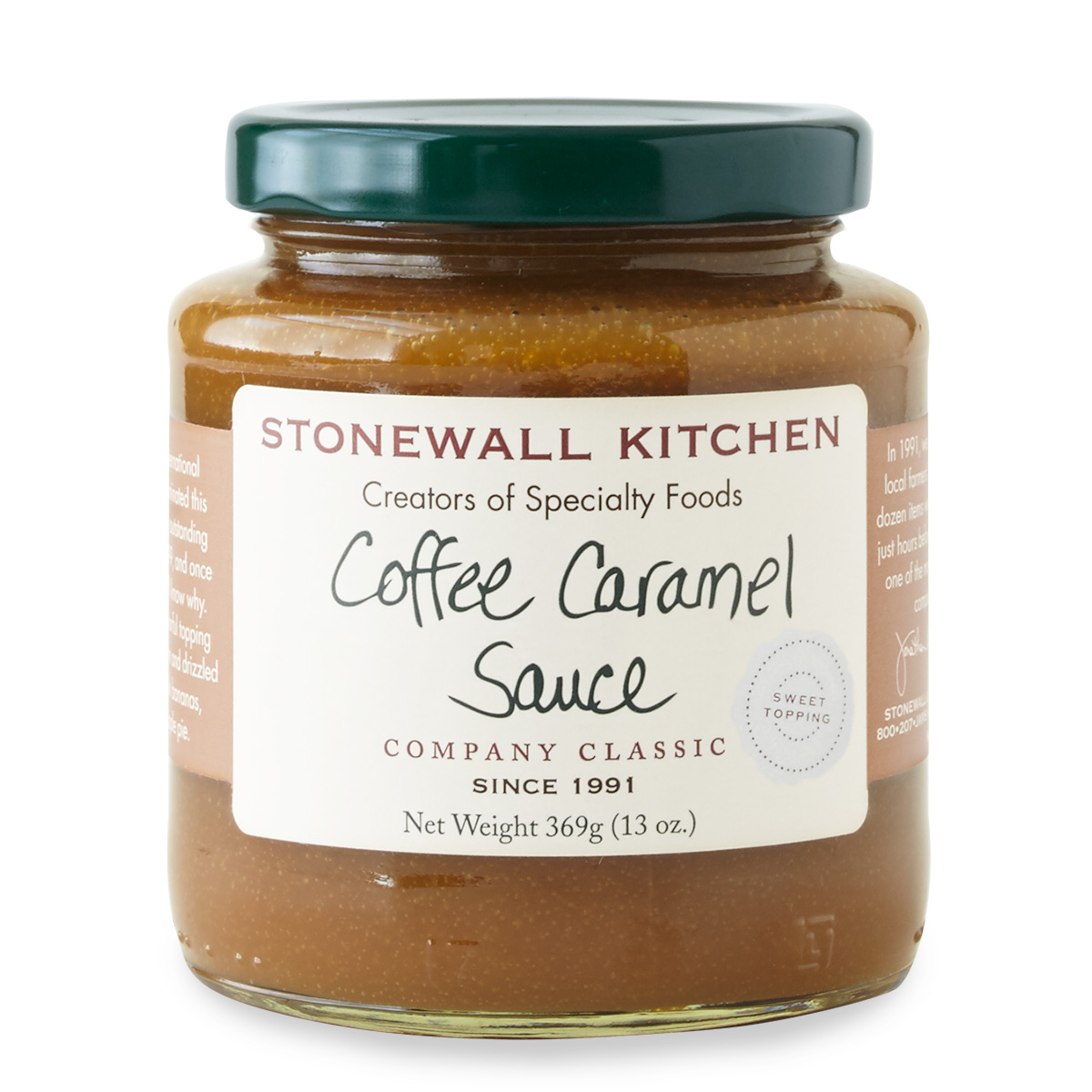 stonewall kitchen com mobile island coffee caramel sauce dessert sauces and candy
