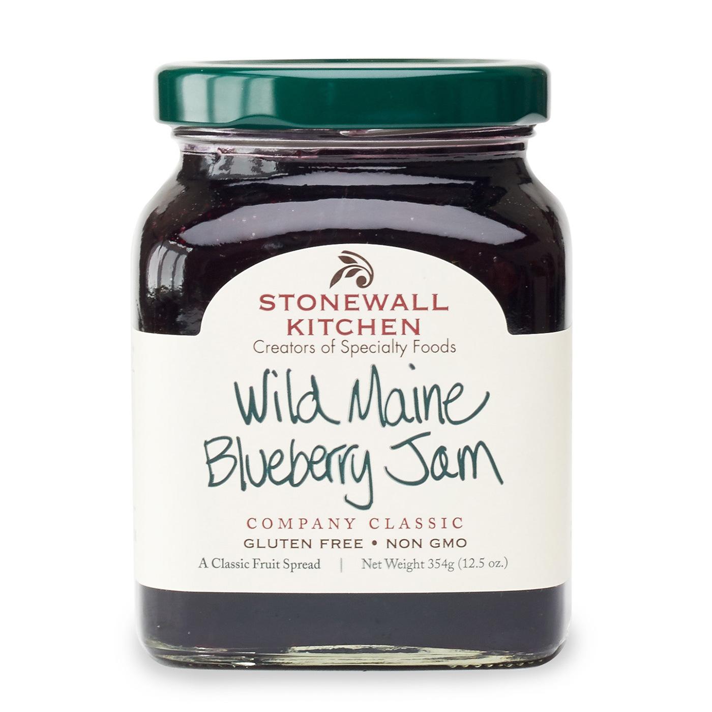 Wild Maine Blueberry Jam  Jams Preserves  Spreads