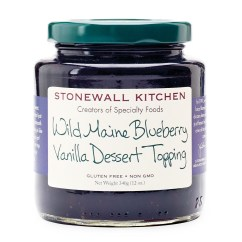 Stonewall Kitchen Com Remodeling Los Angeles Wild Maine Blueberry Vanilla Dessert Topping