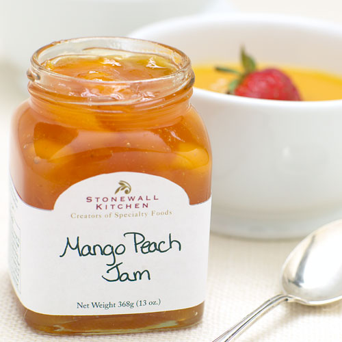stonewall kitchen jam commercial cabinets mango peach | jams, preserves & spreads ...